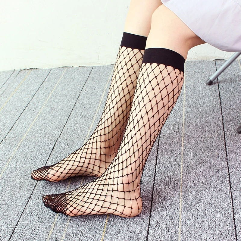 FISHNET KNEE HIGH SOCKS