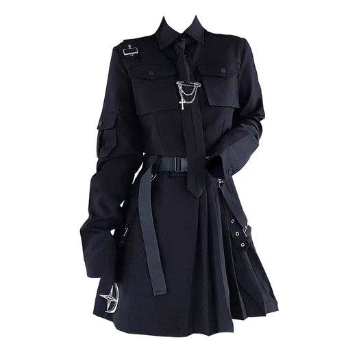 Gothic Short Style Suit And Skirt Set
