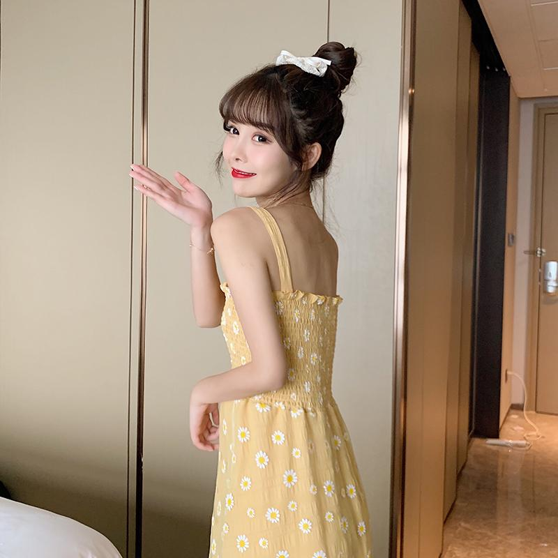 KawaiiDay-Daisy-Embroidery-Princess-Sling-Dress