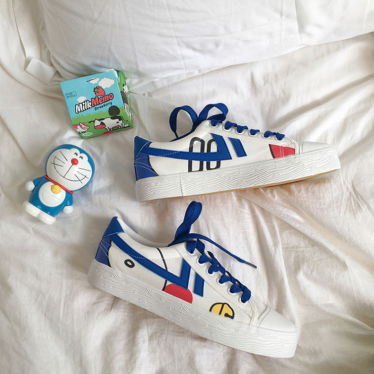 Kawaii Bell Canvas Shoes