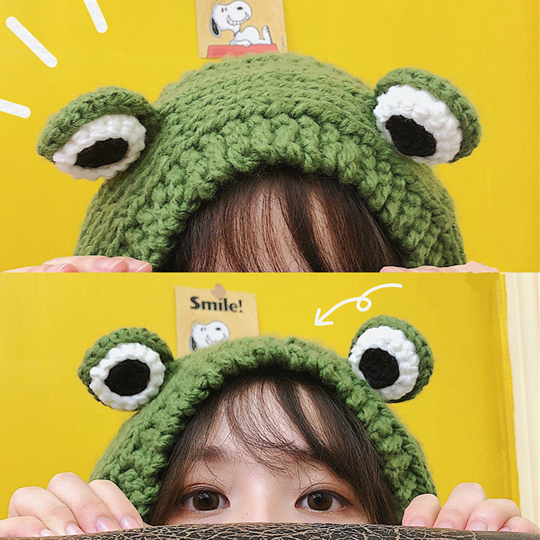 Best Kawaii - Kawaii Monster Big Eyes Hat