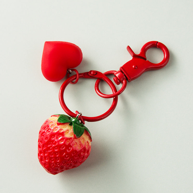 Kawaii Strawberry Key Chain