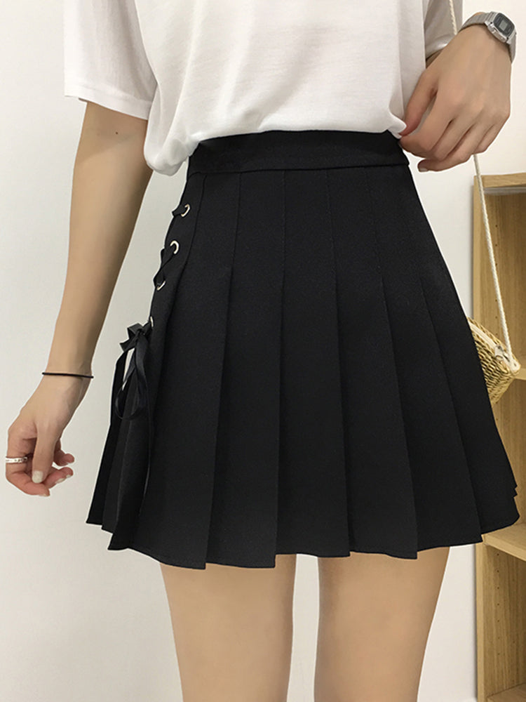 Short Pleated School Girl Skirts