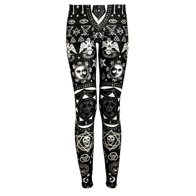 Occult Punk Leggings
