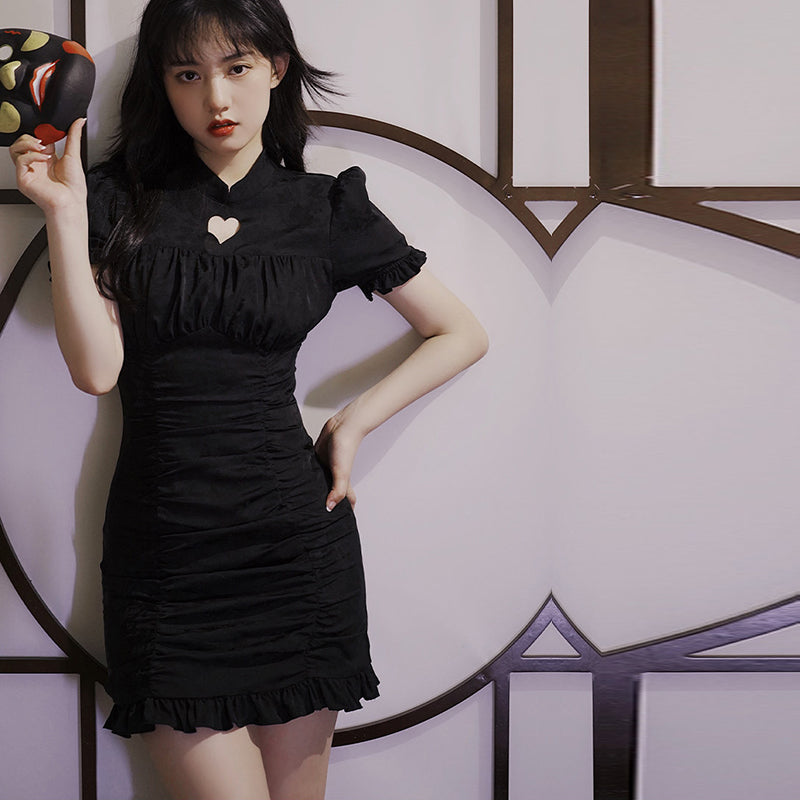 Retro Love Cheongsam Dress