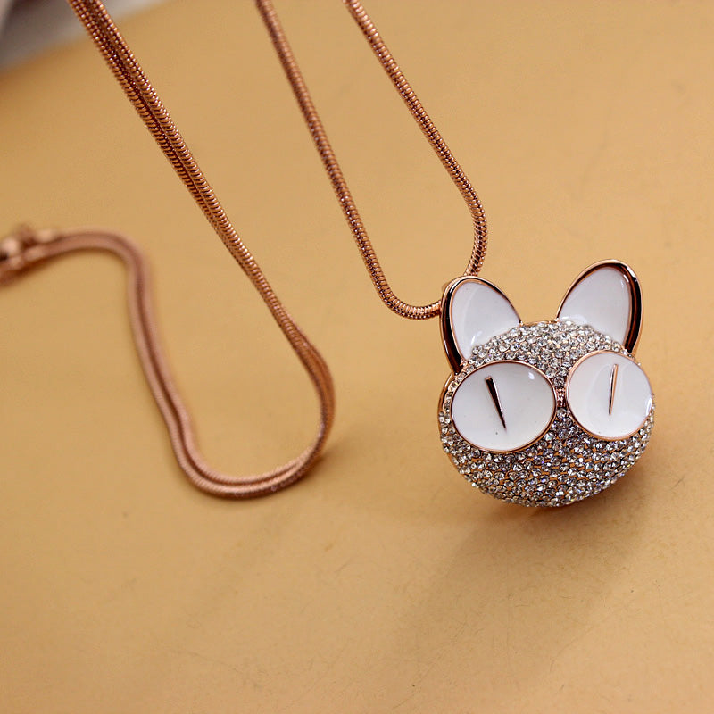 Best Kawaii - Staring Cat Necklace