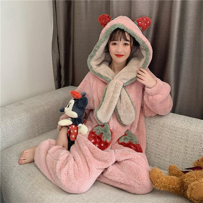 Best Kawaii - Strawberry Pajama Series