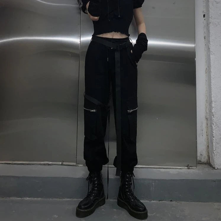 Street Cargo Pants With Belt