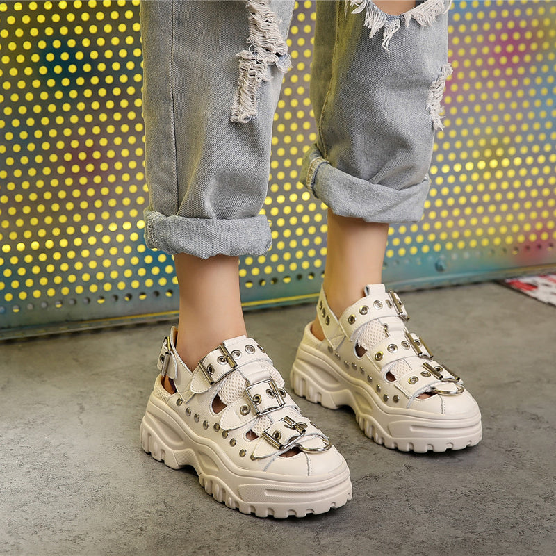 Studded Punk Dad Shoes
