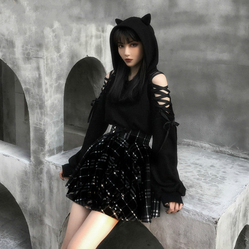 bestkawaii-cat-ears-lace-up-sweatshirt-gothic-punk-fashion-kawaii-dark