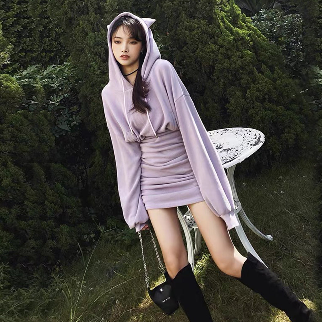 bestkawaii-fantasy-cat-sheath-hoodie-dress-grunge-pastel-gothic-fashion-1