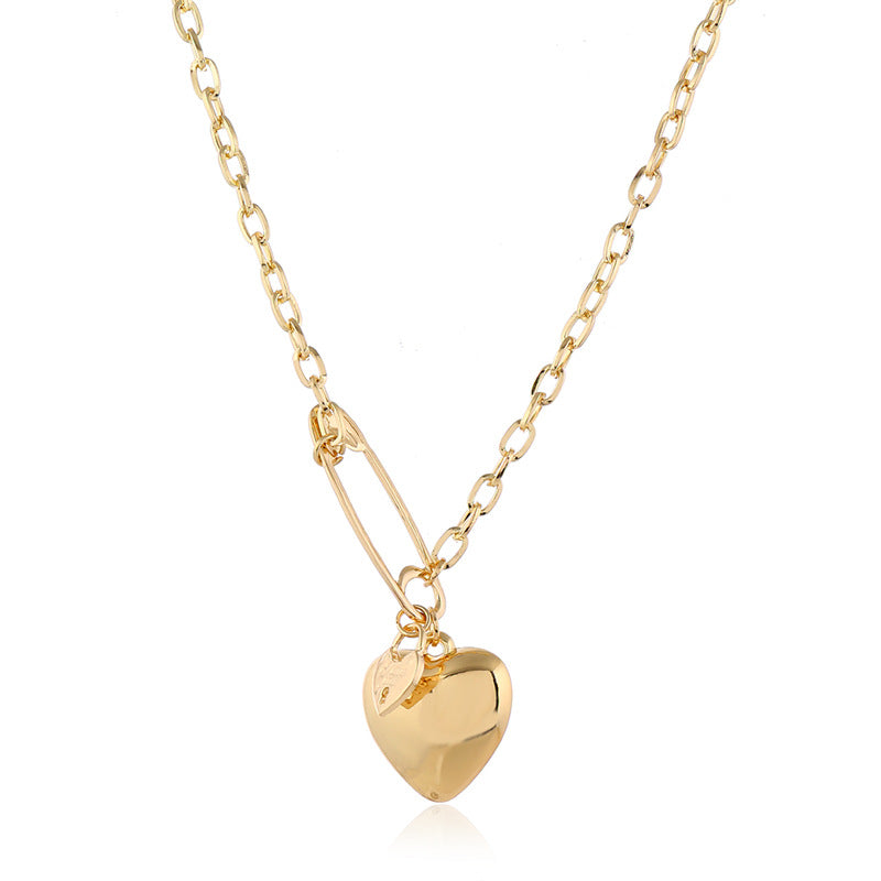 bestkawaii-paper-clip-heart-chain-choker-necklace-