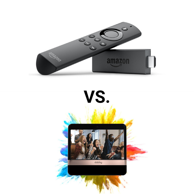 Amazon Fire TV Review vs Dabby by DabKick (2020)