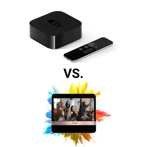 Apple TV vs Dabby streaming device