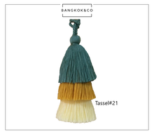 Load image into Gallery viewer, Tassel Charm #21