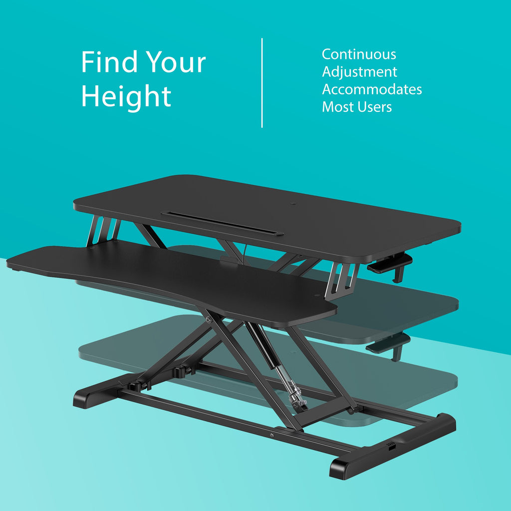 Height Adjustable Standing Desk 32 inch adjustable height desk