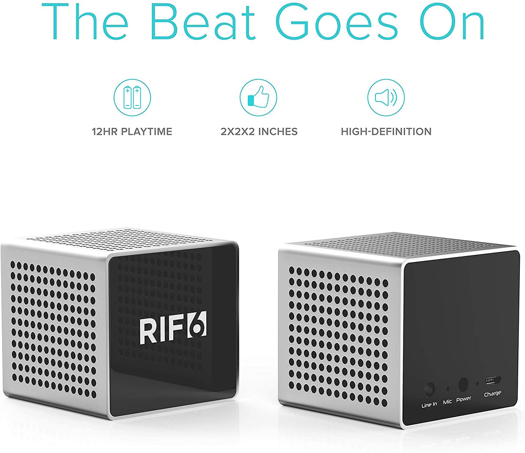 bluetooth cube projector companion speaker 12 hour play time