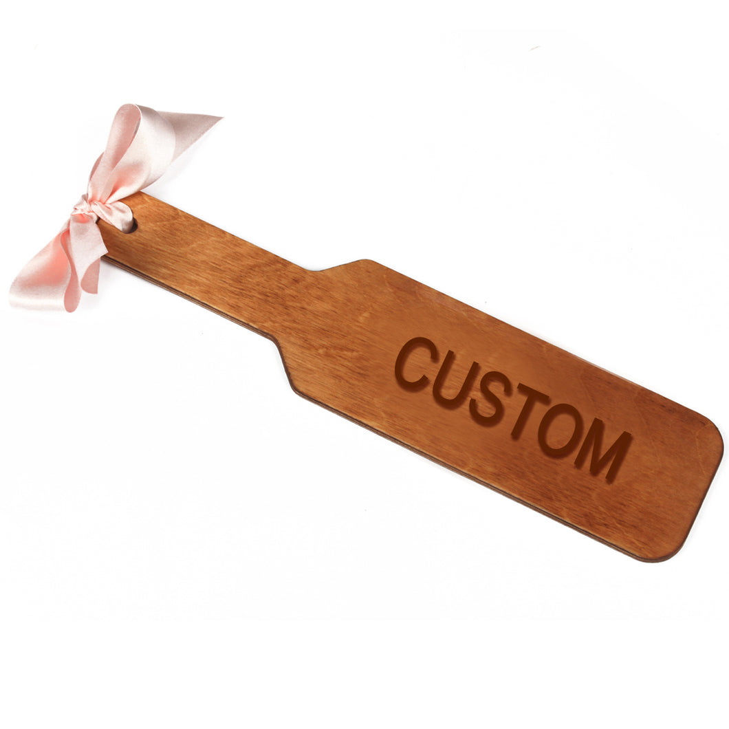 Custom Spanking paddle - Your name or word