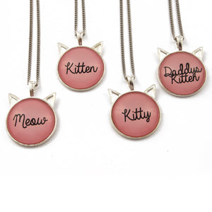 Petplay necklace! Pet play jewellery for kittens/ kitty/ daddy's kitten and ddlg with cute kitten ears