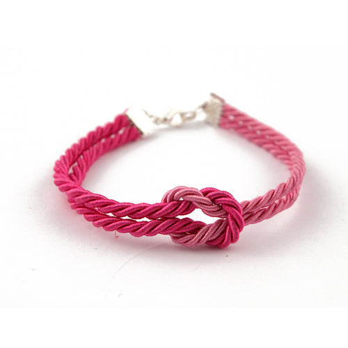 Shibari bondage rope inspired bracelet - hand made to order in your perfect size and colour! Perfect gift for a BDSM bondage fan