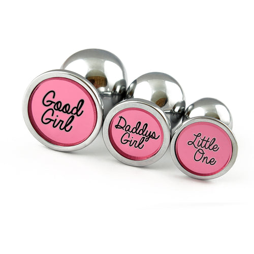 Butt plug - custom engraved butt plugs MATURE listing for anal plug perfect for ddlg or general bdsm play. Pink anal buttplugs!
