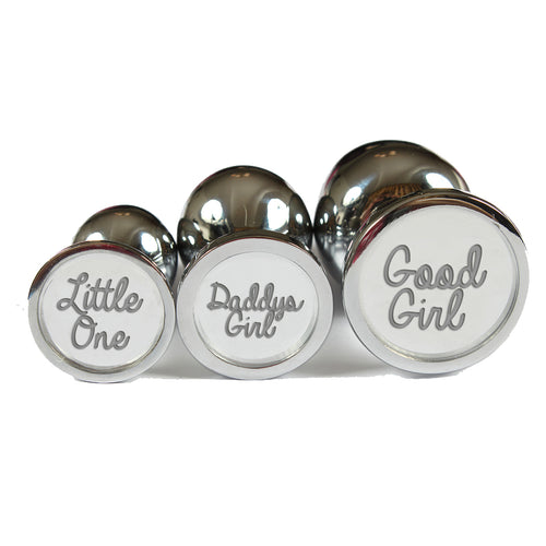 Personalised small, medium and large engraved butt plug set. Anal sex plug for subs/ littles/ ddlg. Personalised/ custom butt plugs MATURE