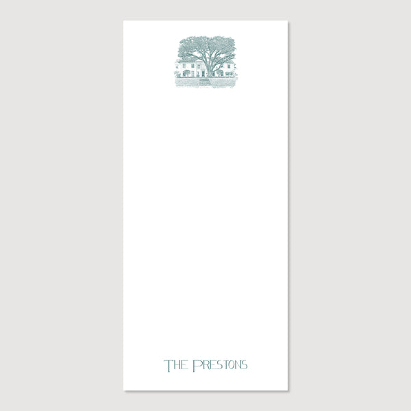 Home Sweet Home Personalized Notepad