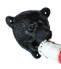 Bottle Opener Black Bear Cast Iron Bottle Opener