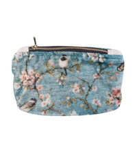 Clutch Bag Shiraz Small Printed Velvet Clutch Bag With Zip