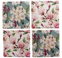 Coasters Magnolia Flower Coasters