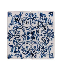 Coasters Resin Spanish Tile Coasters - Azulejos