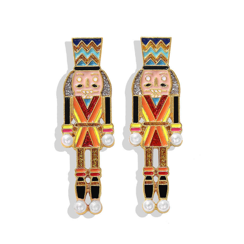 Nutcracker Drop Earrings