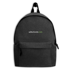 w3schools Backpack