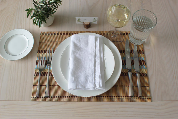 Why Real Cloth Napkins?