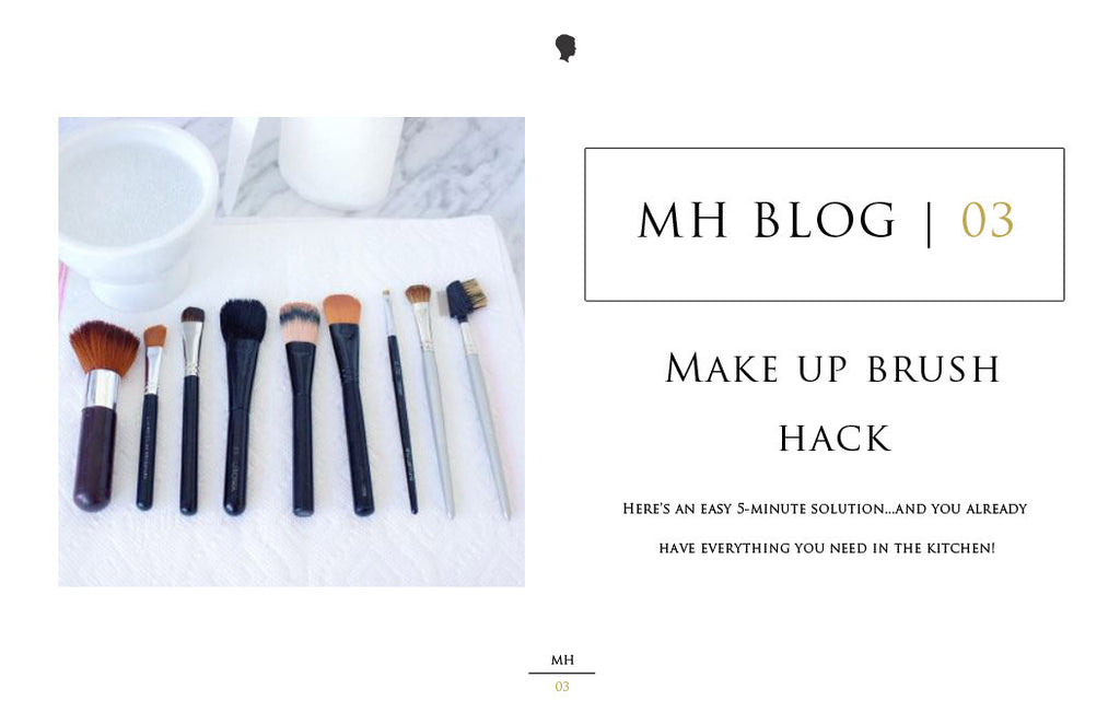 03 | Make-up brush hack