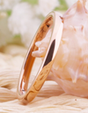 Tungsten  Rose gold  Rings for Women