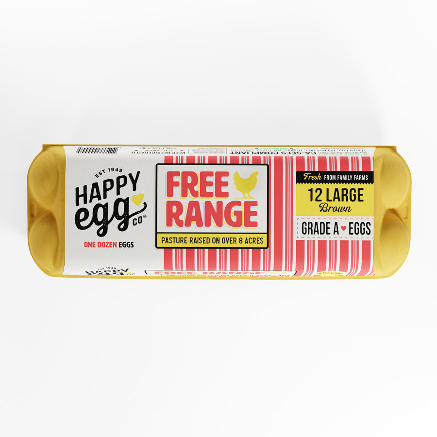 Eggs, Happy FREE RANGE Brown