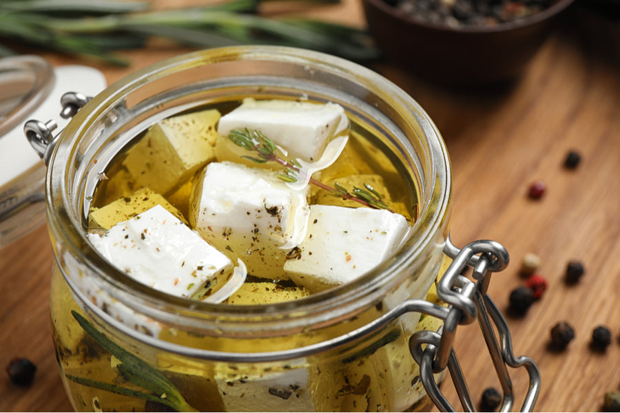 Cheese, WRC Greek Marinated Feta