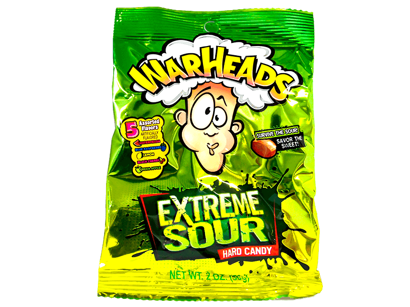 Warheads Extreme Sour