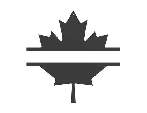 Maple Leaf Monogram