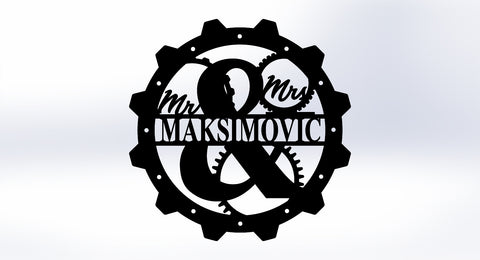 Steampunk Monogram