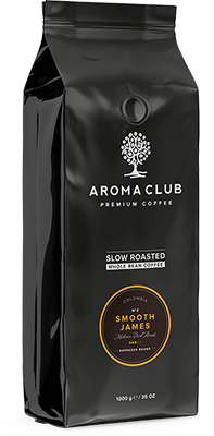 Aroma Club Smooth James koffiebonen
