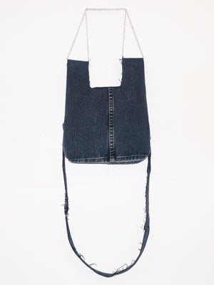 MINI CHAIN SHOPPER BLUE