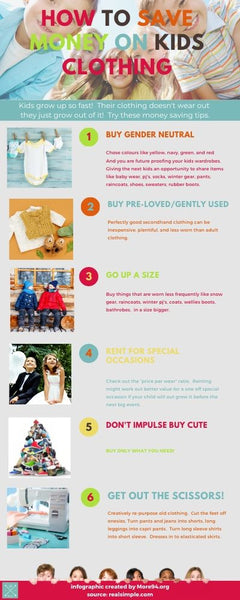 6 Ways To Save Money On Kids Clothes! The Ultimate Guide For Savers!
