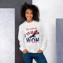 Load image into Gallery viewer, Trump, Won, USA, Republican, Conservative, Patriots, GOP, Sweatshirt