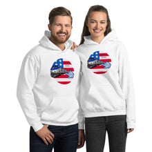 Load image into Gallery viewer, Patriots, Conservative, Republican, GOP Couples, Womens, Mens Hoodie - More94, Trump, Republican, Conservative, GOP, Patriotic Clothing