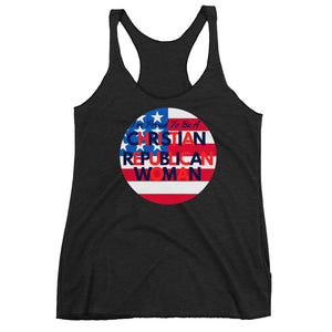 Patriots, Conservative, Republican Ladies Tank, Women's Racerback Shirt, T-Shirt - More94, Trump, Republican, Conservative, GOP, Patriotic Clothing