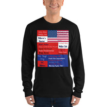 Load image into Gallery viewer, Trump, Patriots, Conservative Mens Shirt, Mens Long sleeve t-shirt - More94, Trump, Republican, Conservative, GOP, Patriotic Clothing