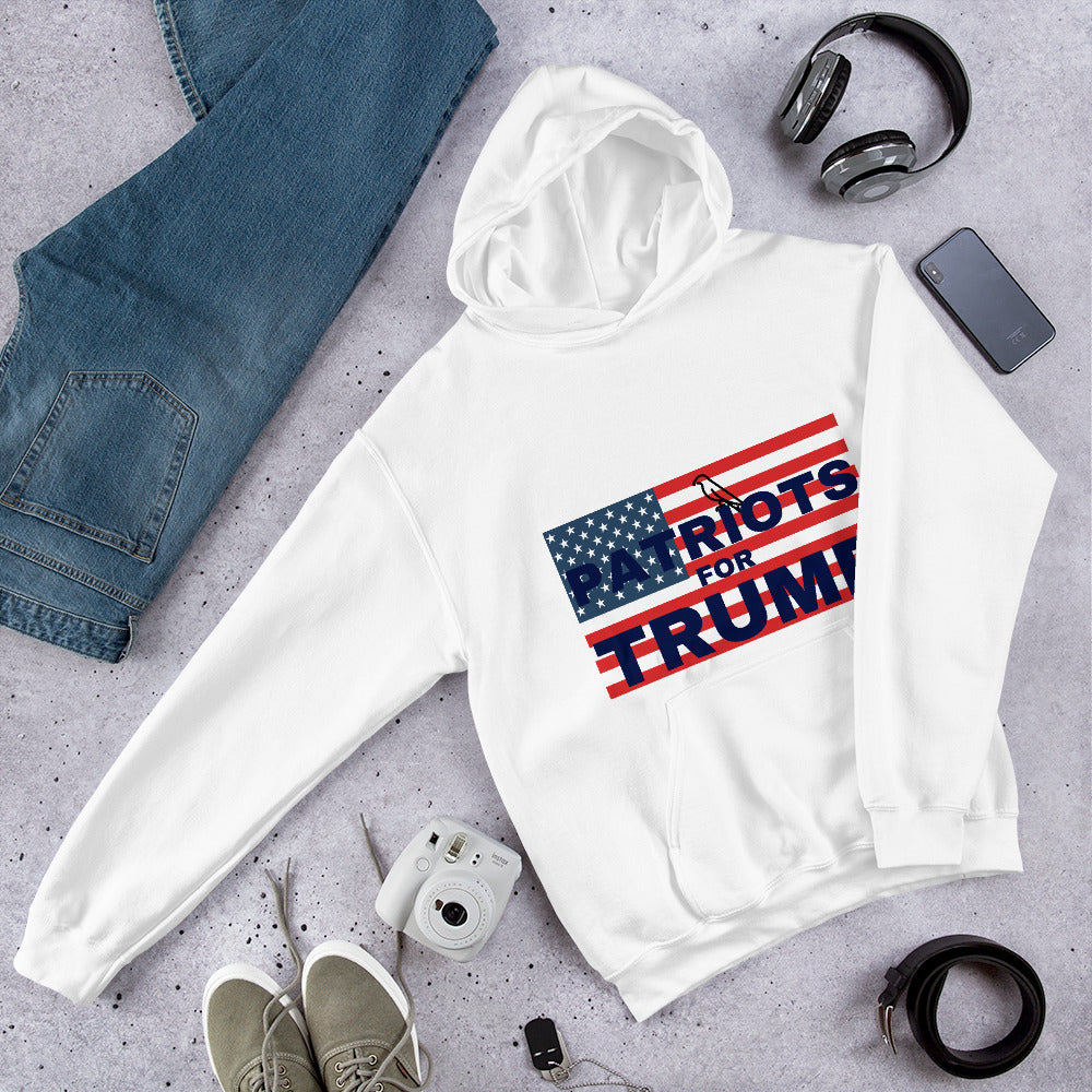 Patriot, America, USA, Womens Hoodie, Ladies Hoodie - More94, Trump, Republican, Conservative, GOP, Patriotic Clothing