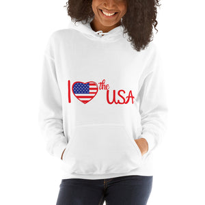 USA, Patriot, America, Womens Hoodie - More94, Trump, Republican, Conservative, GOP, Patriotic Clothing